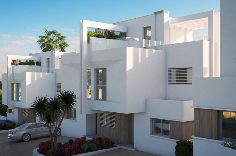entrance Casares new developments for sale