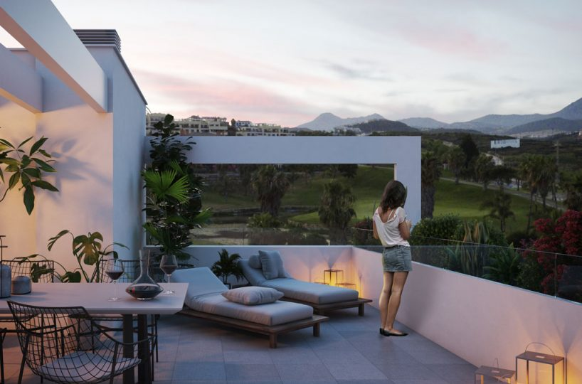 sunset Casares new developments for sale