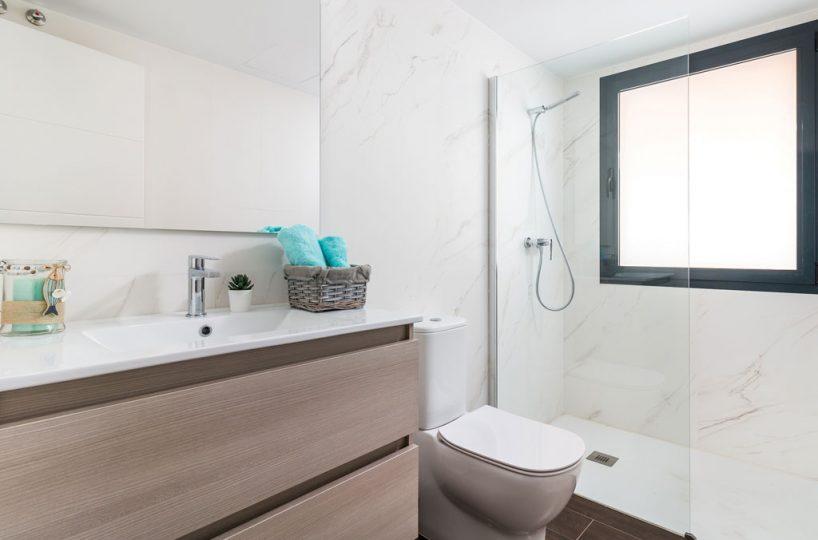 bath new build property Casares