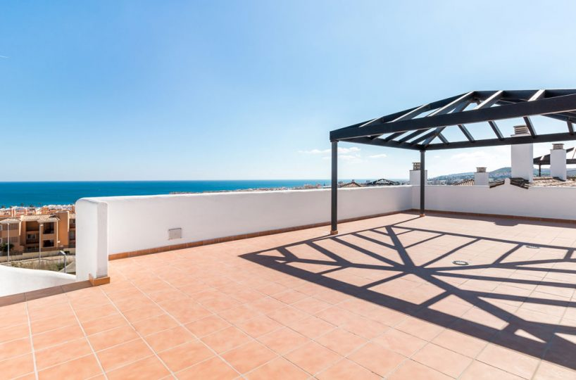 terrace new build property Casares