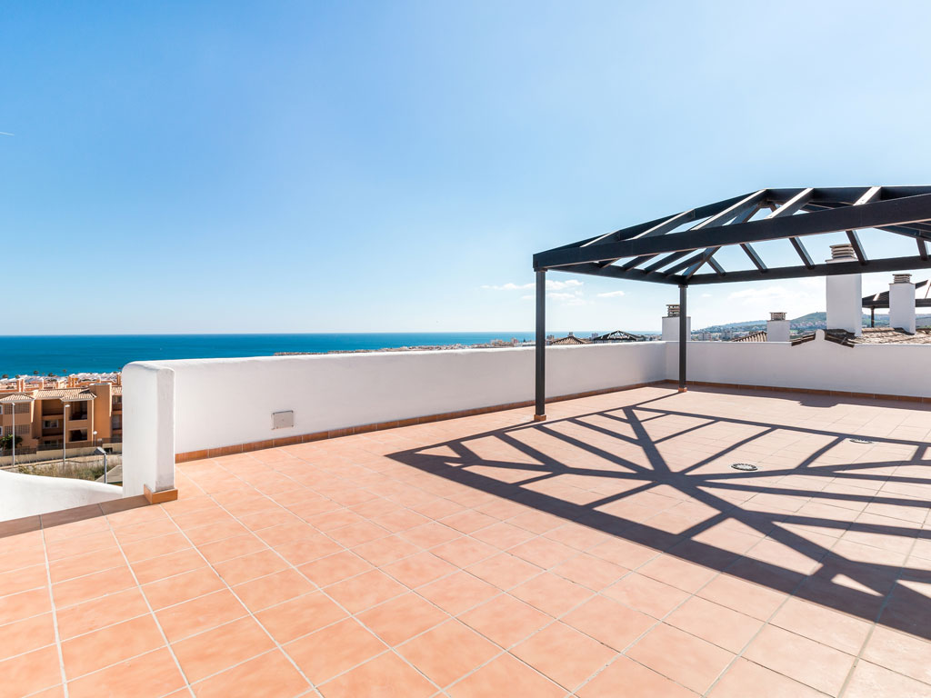terrace new build property Casares