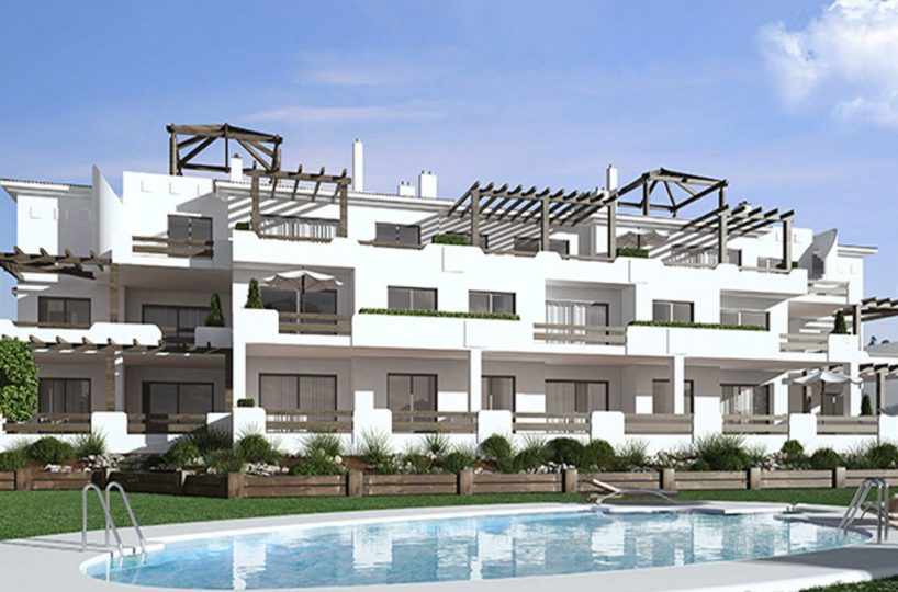pool new build property Casares