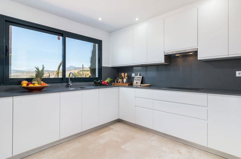 kitchen new build property Casares