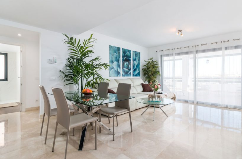 lounge new build property Casares