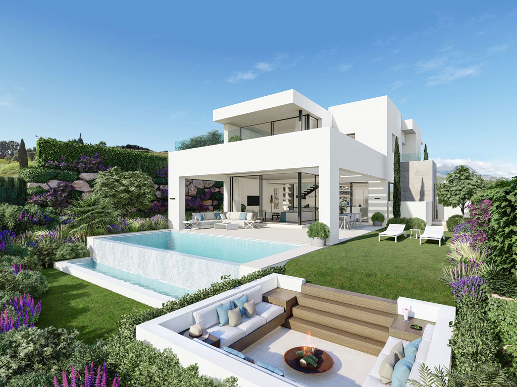 Estepona golf villas for sale
