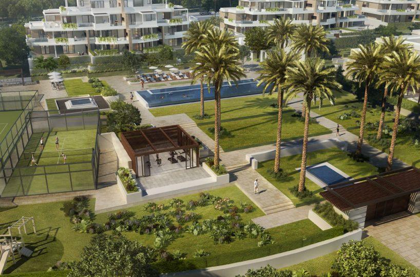 Beach front villas costa del sol