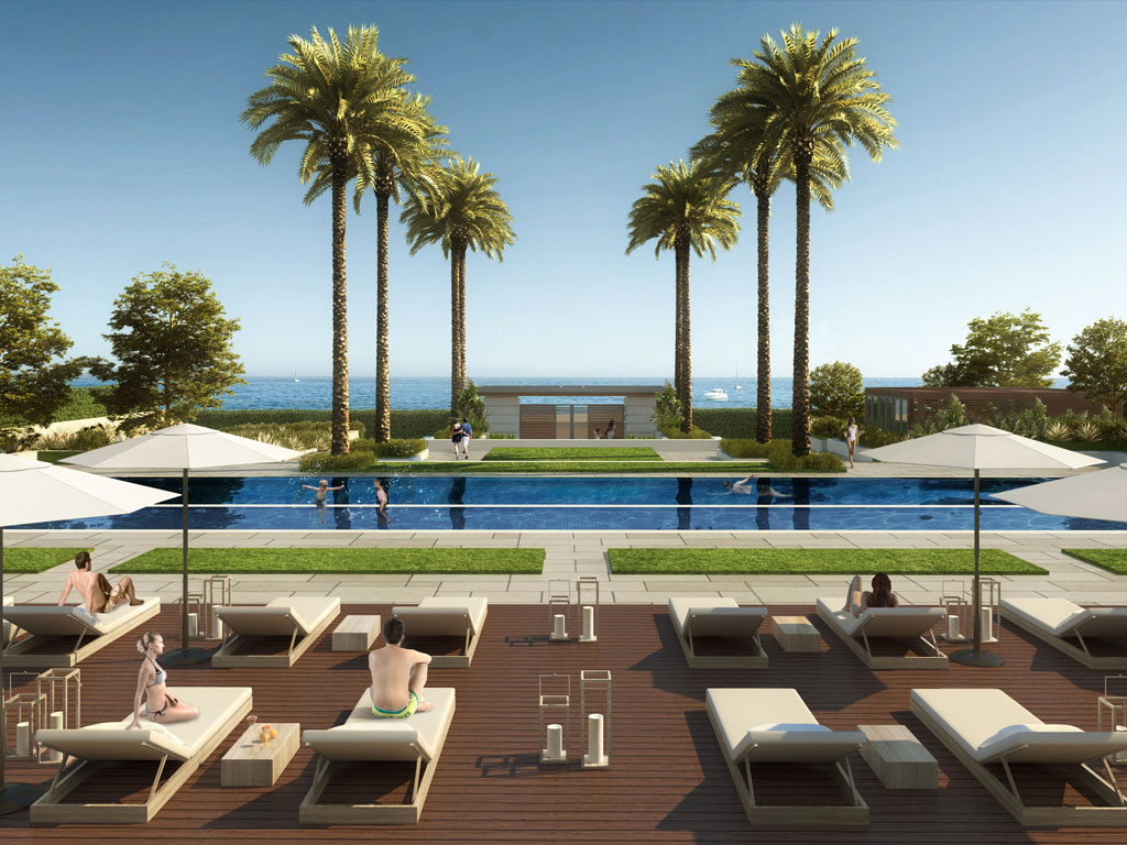 Beach front villas costa del sol
