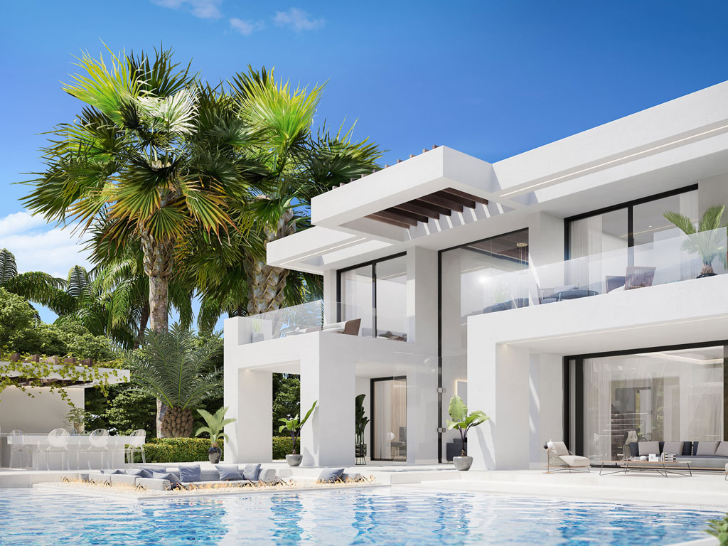 modern villas for sale estepona
