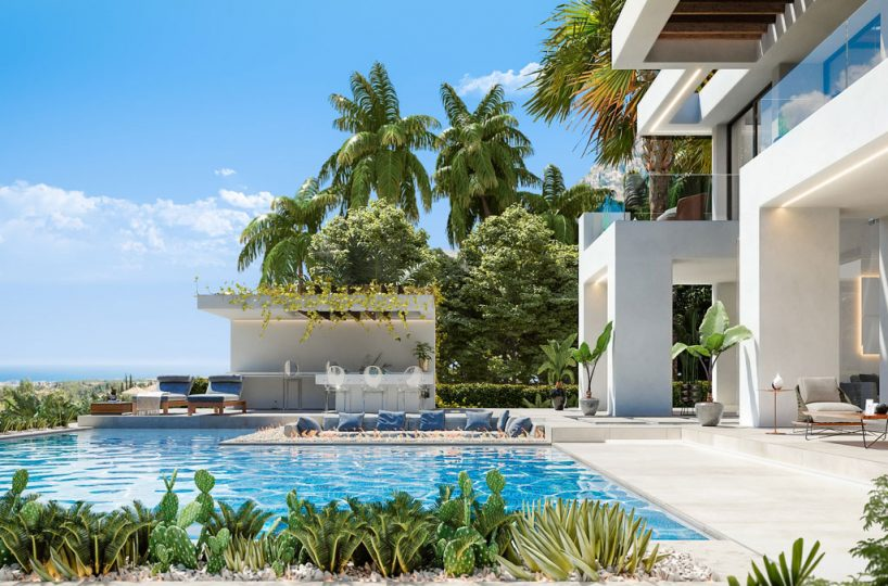 modern villas for sale estepona